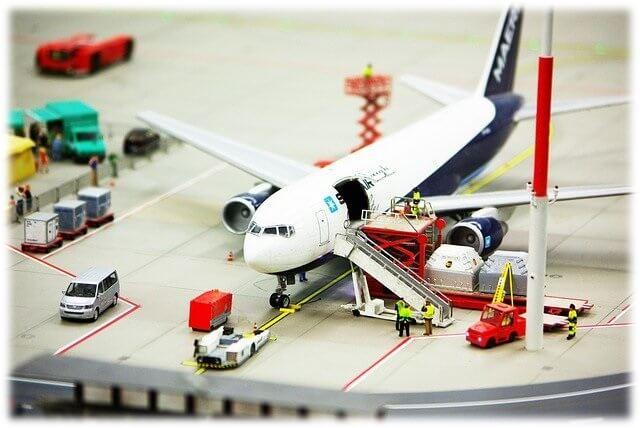 空港の模型