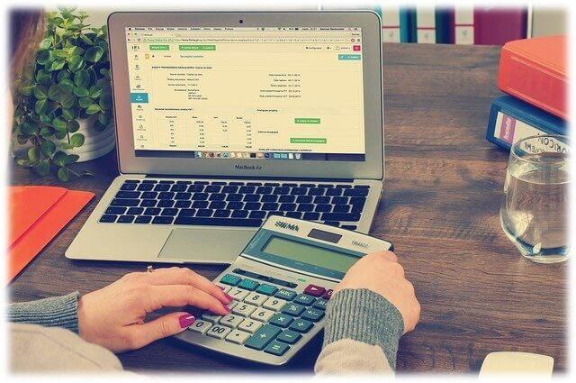 簡易税率を計算するイメージ